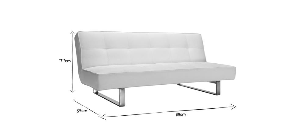 Design-Bettsofa CHARLESTON Schwarz