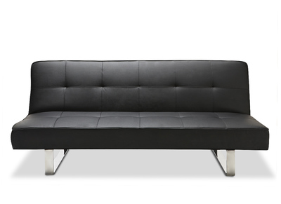Design-Bettsofa CHARLESTON Schwarz