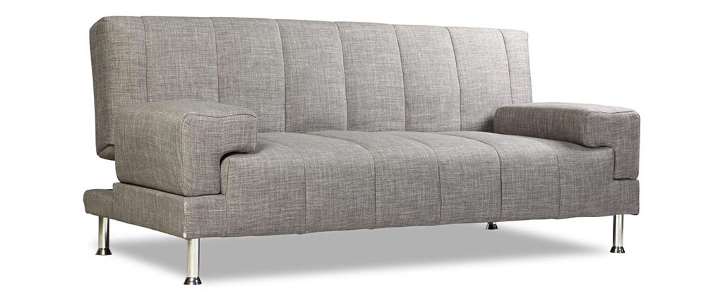 Design-Bettsofa DENVER Grau