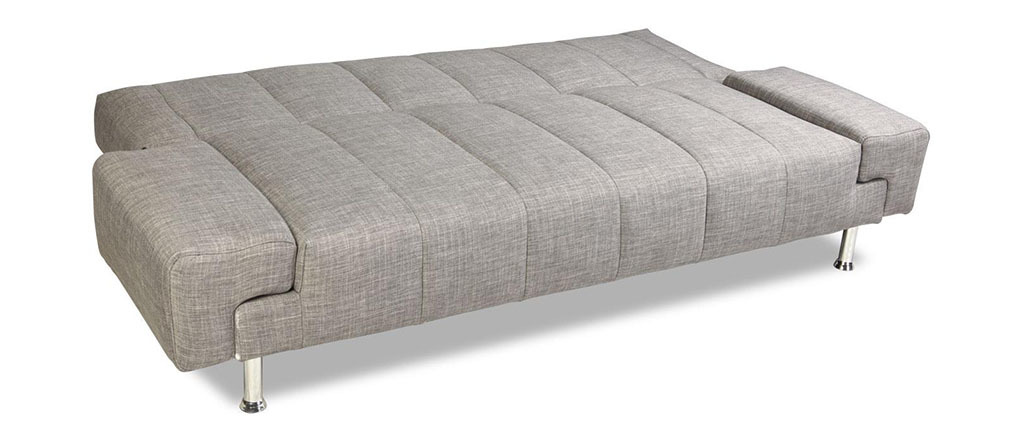 Bettsofa design  Design-Bettsofa DENVER Grau - Miliboo