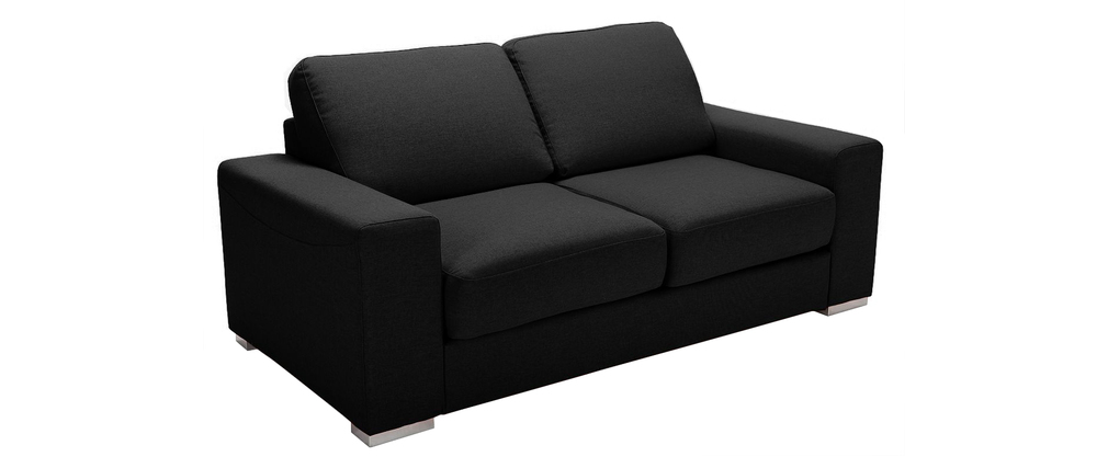 Design-Bettsofa HAMILTON Schwarz