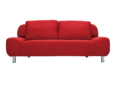 Design-Bettsofa Kirschrot TULSA