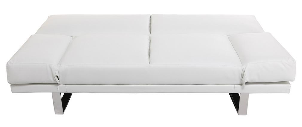 Design-Bettsofa PU Weiß ATLANTA