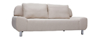 Design-Bettsofa TULSA Natur