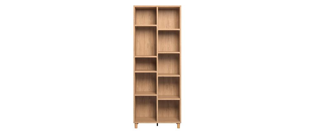 Design-Bücherregal aus Eiche JIM