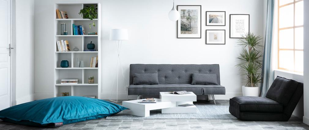 Design-Bücherregal Holz Weiß EPURE