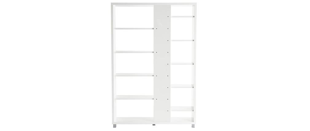 Design-Bücherregal VIXY Weiß