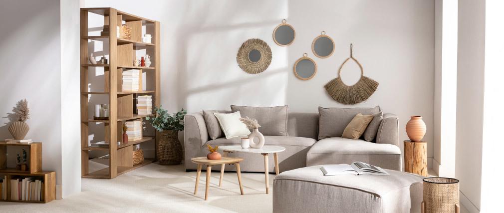 Design-Bücherregal Weiß MUSSO