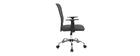 Design-Bürosessel Mesh Grau PLUZ
