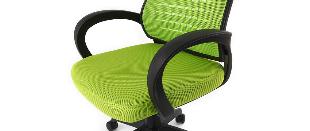 Design-Bürosessel Mesh Grün JUNIO