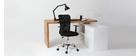 Design-Bürosessel Mesh Schwarz PLUZ