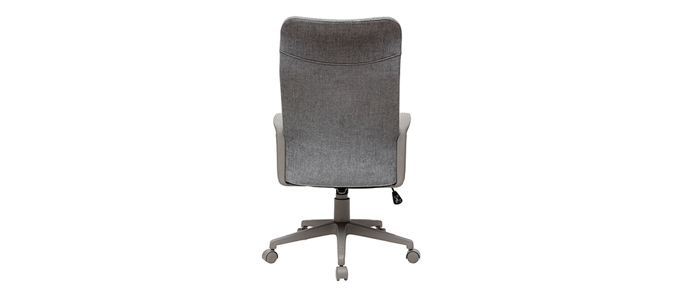 Design-Bürosessel RISTER grauer Stoff