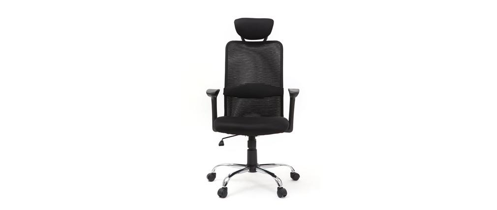 Design-Bürosessel Schwarz ADAPT