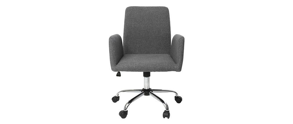 Design-Bürosessel Stoff Grau ARIEL
