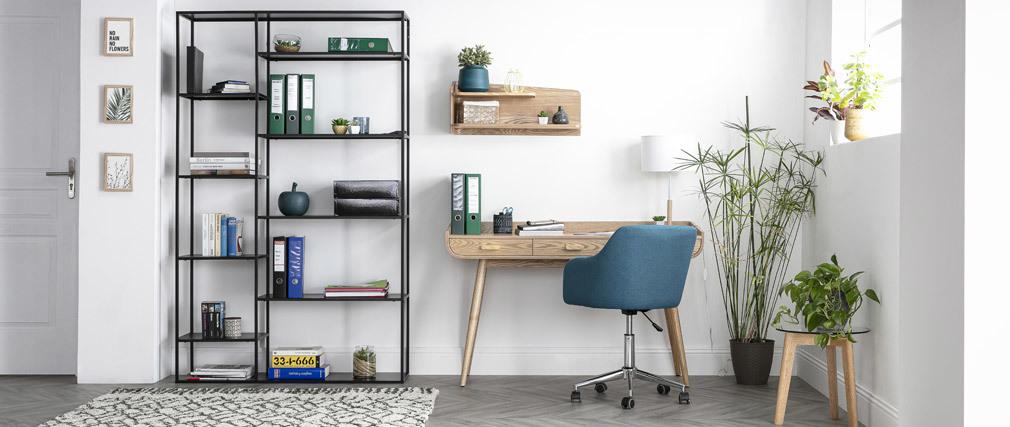 Design Bürosessel Stoff Minzgrün BALTIK