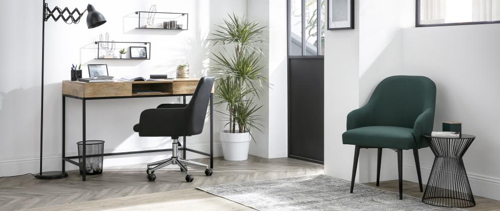 Design Bürosessel Stoff Natur SHANA