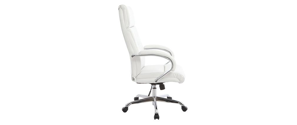 Design-Bürostuhl/Drehstuhl Weiß TOWER