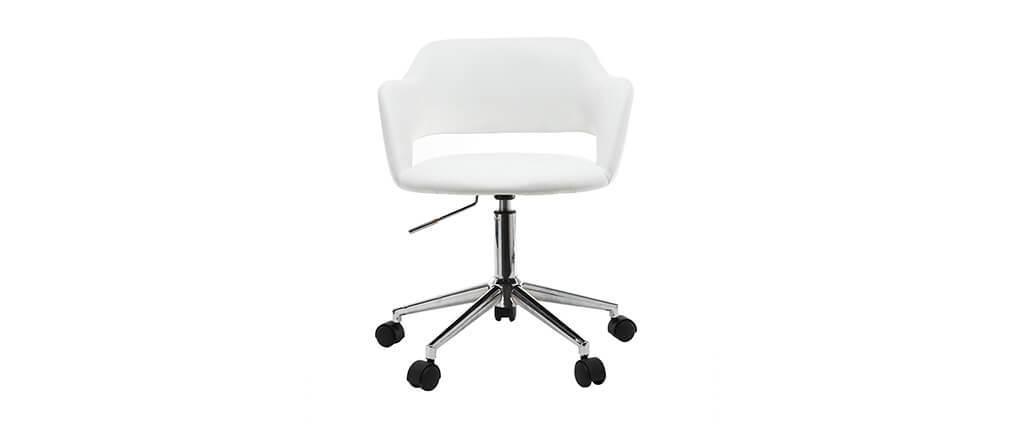 Design-Bürostuhl Weiß JESSY