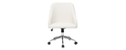Design-Bürostuhl Weiß SCARLETT