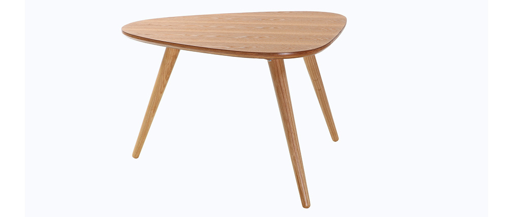 Design-Couchtisch Eschenholz ARTIK