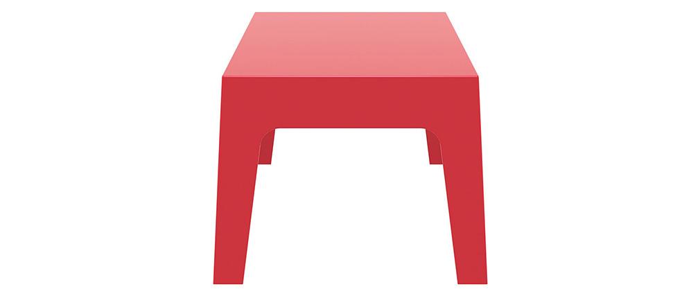 Design-Couchtisch Garten Rot LALI