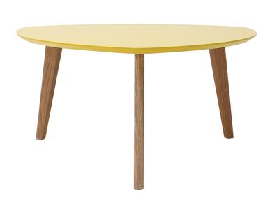 Design-Couchtisch Gelb 80 cm EKKA