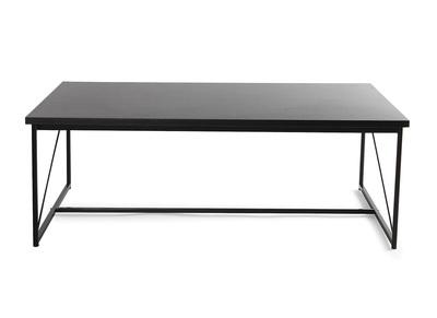 Design-Couchtisch Grau und Schwarz WALT