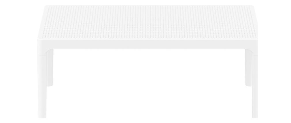 Design-Couchtisch Indoor / Outdoor Weiß OSKOL