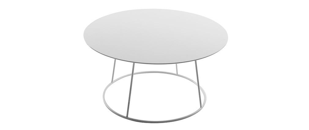 Design-Couchtisch KALY Weiß