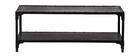 Design-Couchtisch Metall Schwarz 120 cm FACTORY
