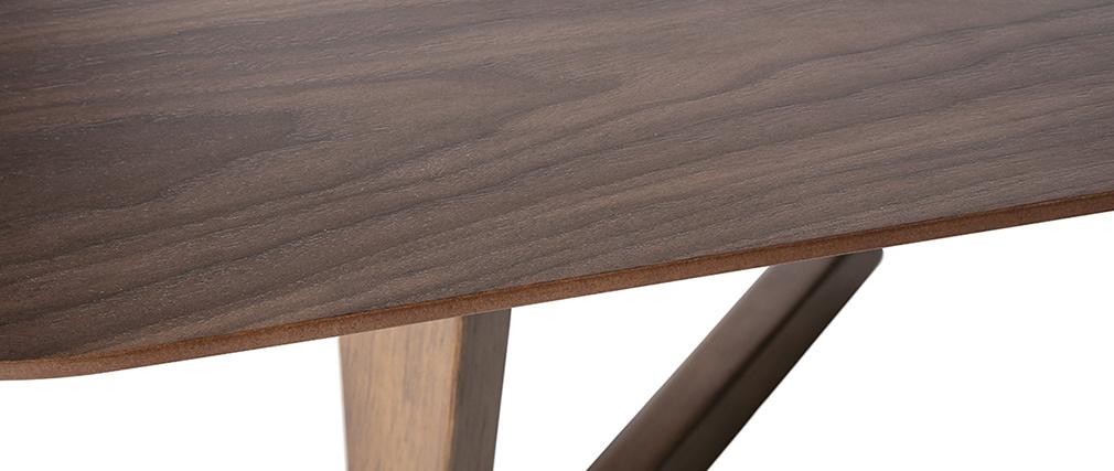 Design-Couchtisch Nussbaumholz 150 cm JUKE