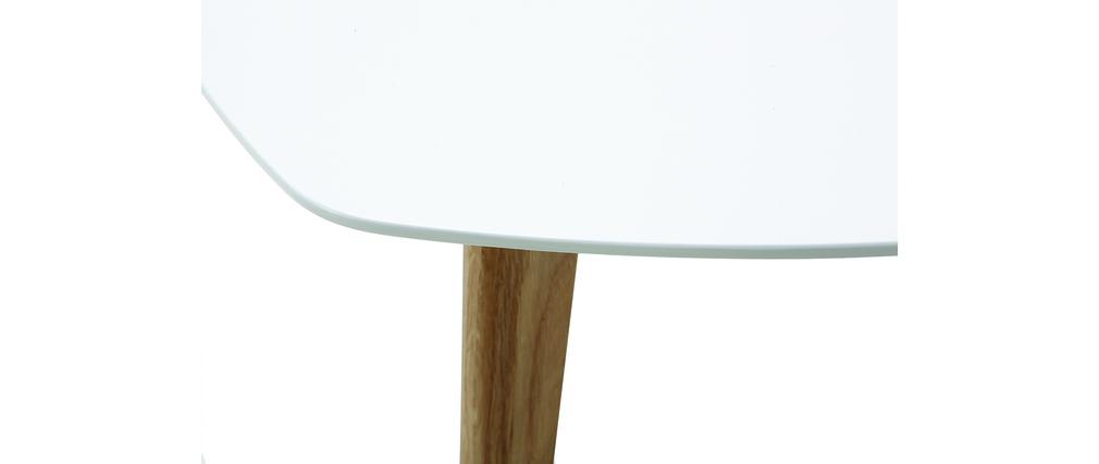 Design-Couchtisch Weiß L80 cm EKKA
