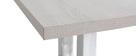 Design-Esstisch 150 cm x 80 cm Helles Holz FILIA