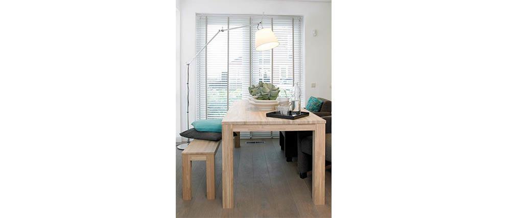 Design-Esstisch 180 cm x 85 cm Eiche LUPA