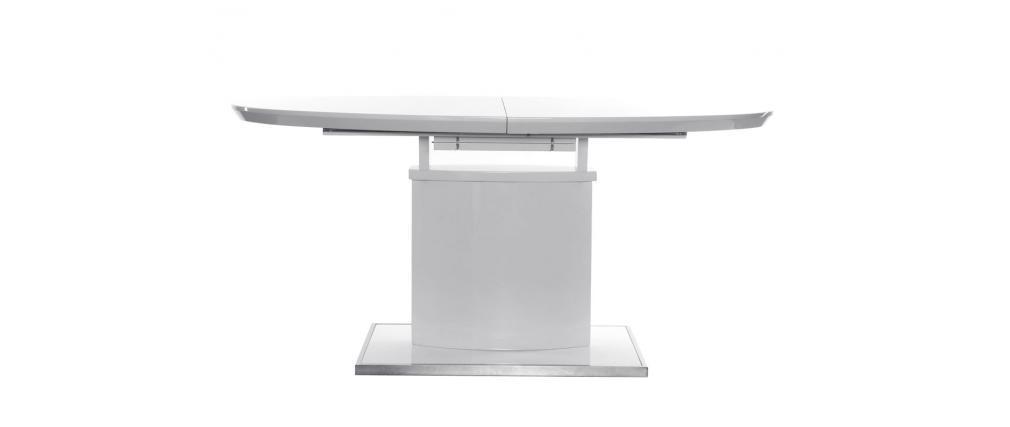 DesignEsstisch ausziehbar 160200 cm x 95 cm Weiß CLEONES