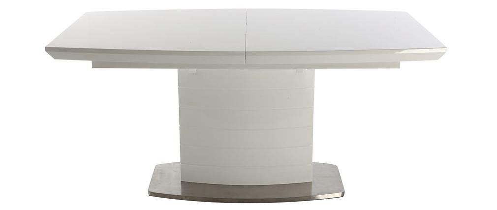 Design-Esstisch ausziehbar aus Esche 160–200 cm ERESOS
