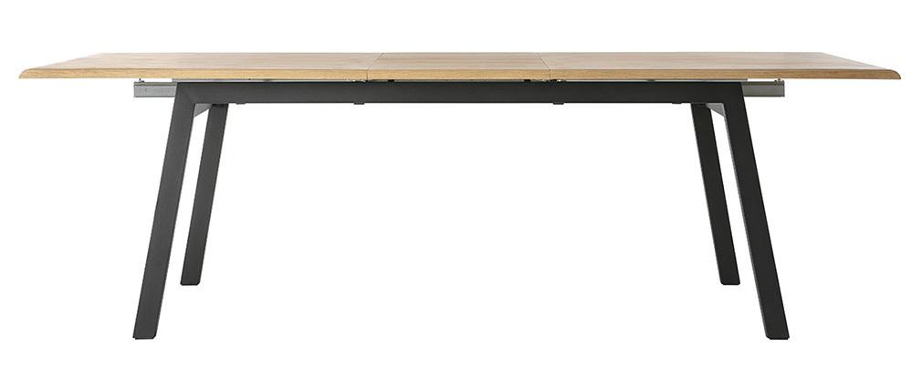 Esstisch ausziehbar holz metall  Design-Esstisch ausziehbar Holz L190-240 MARNY - Miliboo