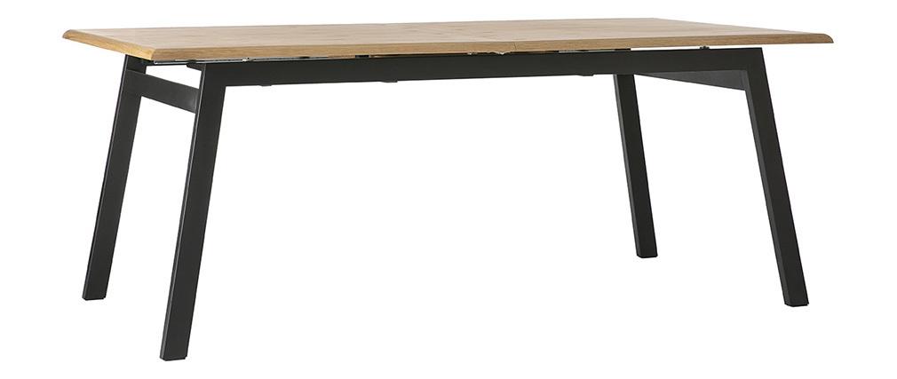Esstisch ausziehbar design  Design-Esstisch ausziehbar Holz L190-240 MARNY - Miliboo