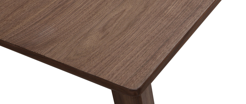 design esstisch ausziehbar nussbaum louna miliboo. Black Bedroom Furniture Sets. Home Design Ideas