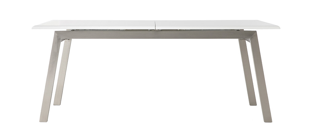 Design-Esstisch ausziehbar Weiß matt L190-240 MARNY