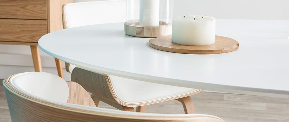Design-Esstisch HALIA Weiß