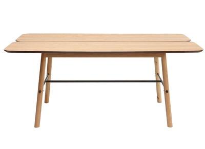 Design-Esstisch helle Eiche JAPANSK