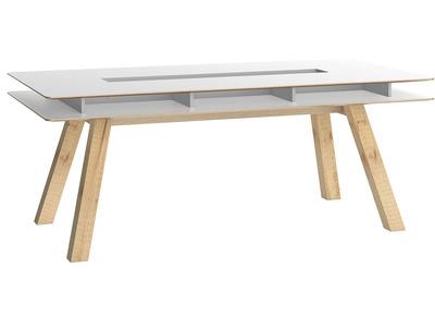 Design-Esstisch mit Stauraum 200 cm WITTY