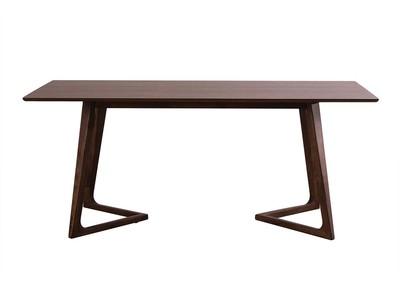 Design-Esstisch Nussbaumholz 180 cm JUKE