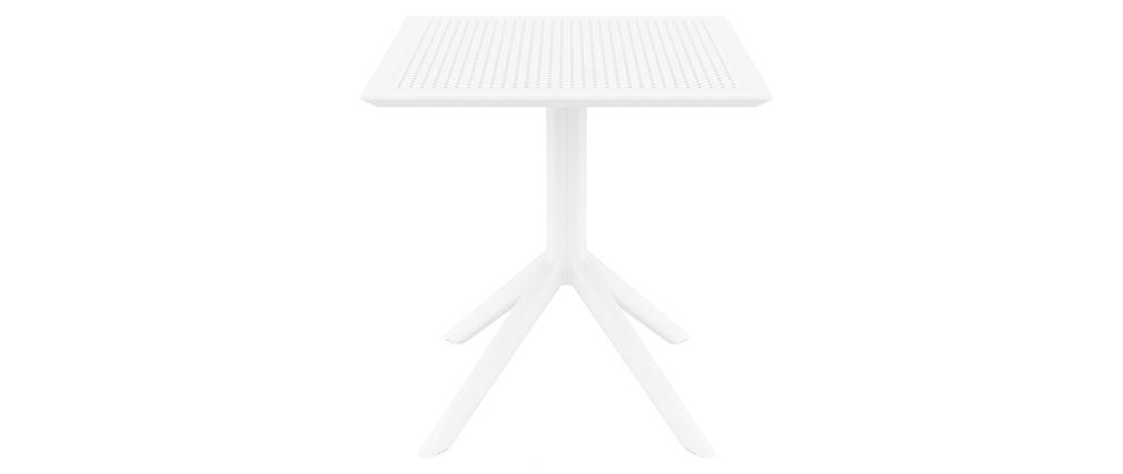 Design-Esstisch quadratisch Weiß Indoor / Outdoor OSKOL
