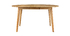 Design-Esstisch rund ausziehbar Eiche L120-150 LEENA