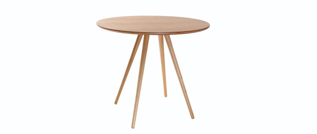Design-Esstisch rund Eschenholz D90 ARTIK