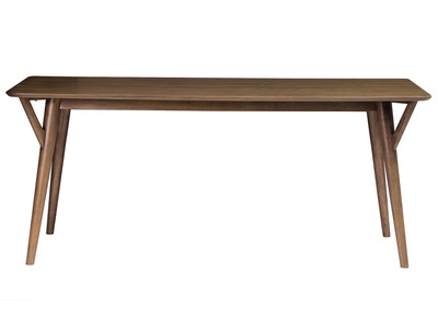 Design-Esstisch Vintage Nussbaum WALFORD