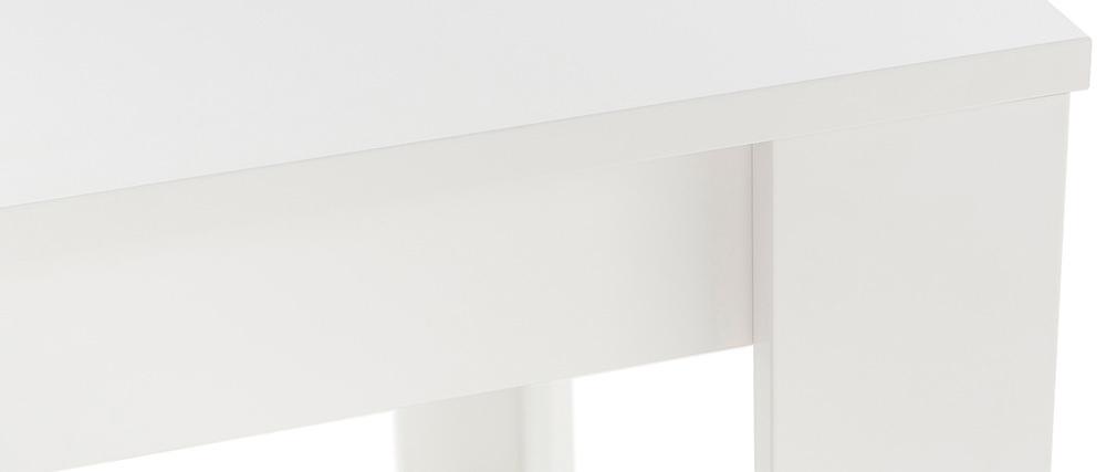 Design-Esstisch weiß 180cm LAND