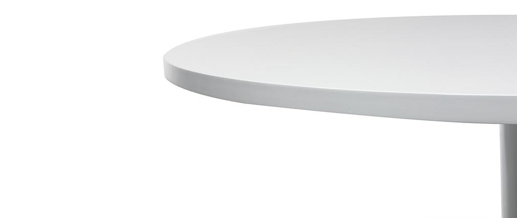 Design-Esstisch Weiß D90 CALISTA